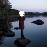 Cig Harvey: Sadie & the Moon, Lake Megunticook, Maine, 2013
