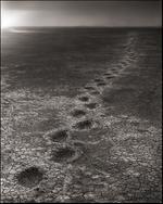 Nick Brandt: Elephant Footprints, Amboseli, 2012