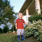 Todd Stewart: Blue Boots, 2004